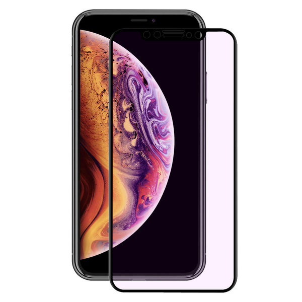 Blokin™ Apple iPhone 11 Pro / XS / X kaartuva anti-blue panssarilasi